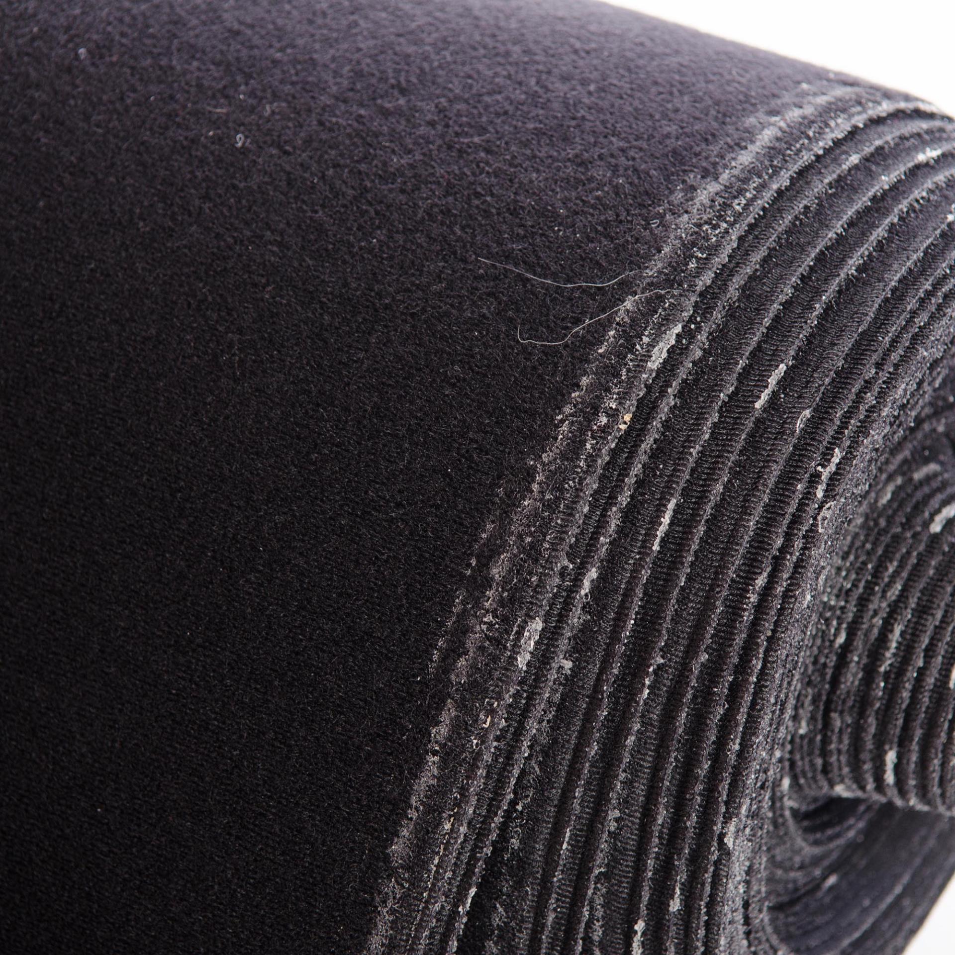 25mtr roll 1400mm VELCRO® Brand Velour LOOP BLACK