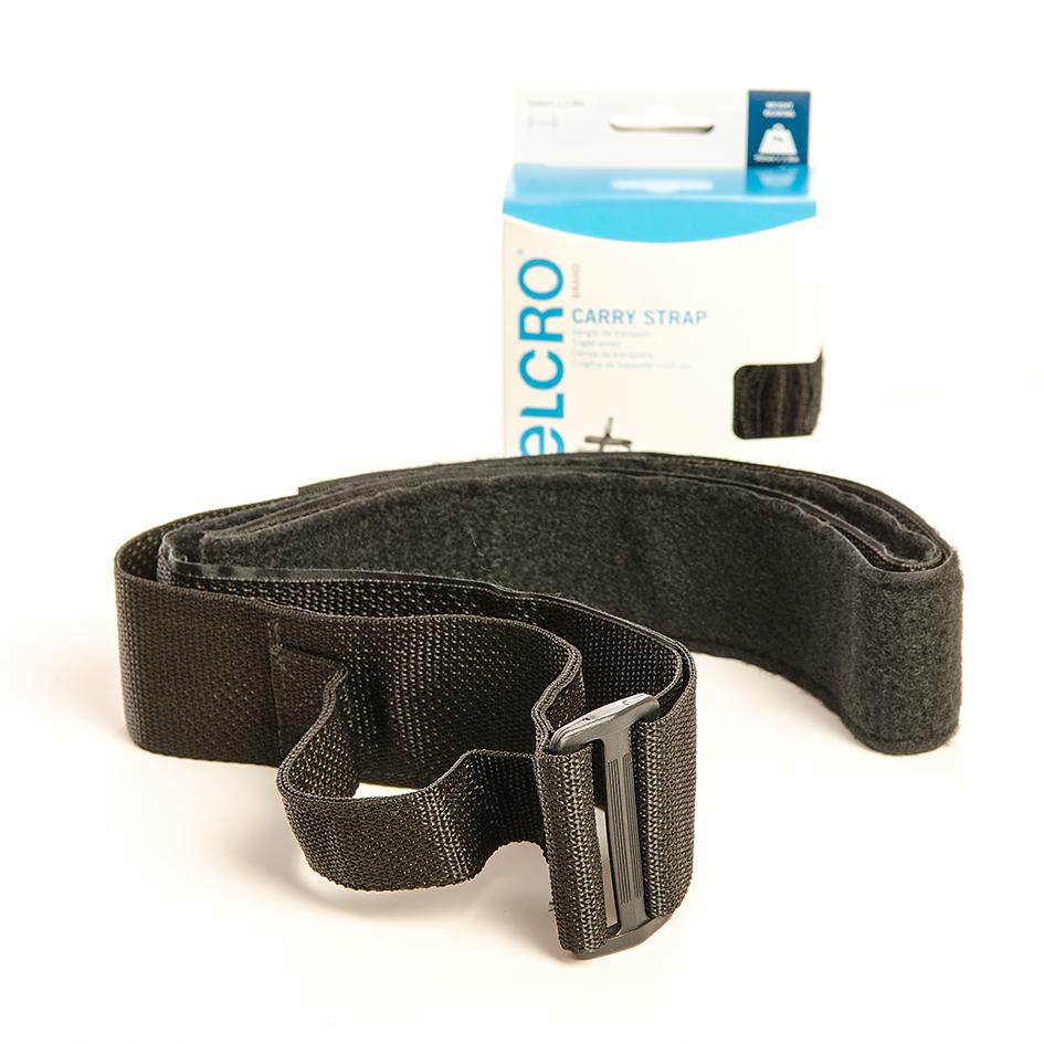 VELCRO® Brand Carry strap 1.8m x 50mm BLACK