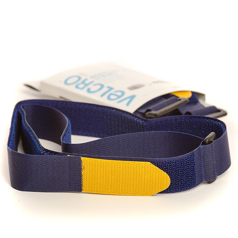 VELCRO® Brand 2 Adjustable straps 92cm x 25mm BLUE
