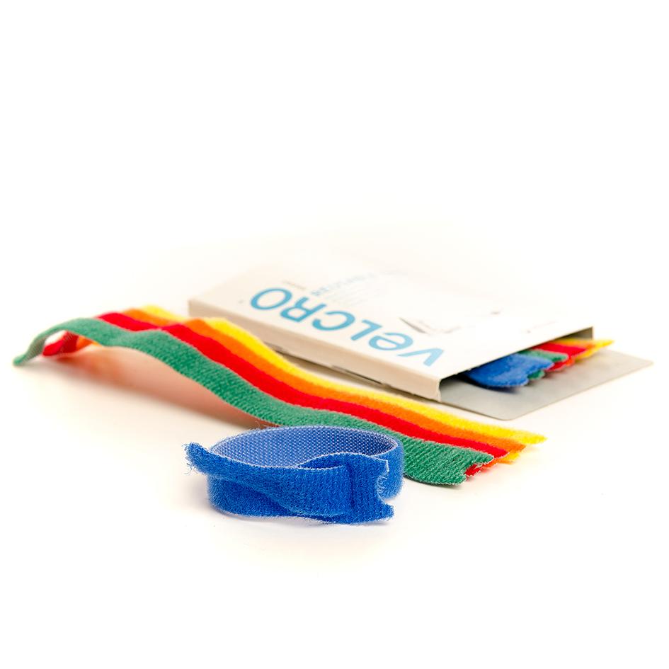 VELCRO® Brand 5 adjustable ties 20cm x 12mm