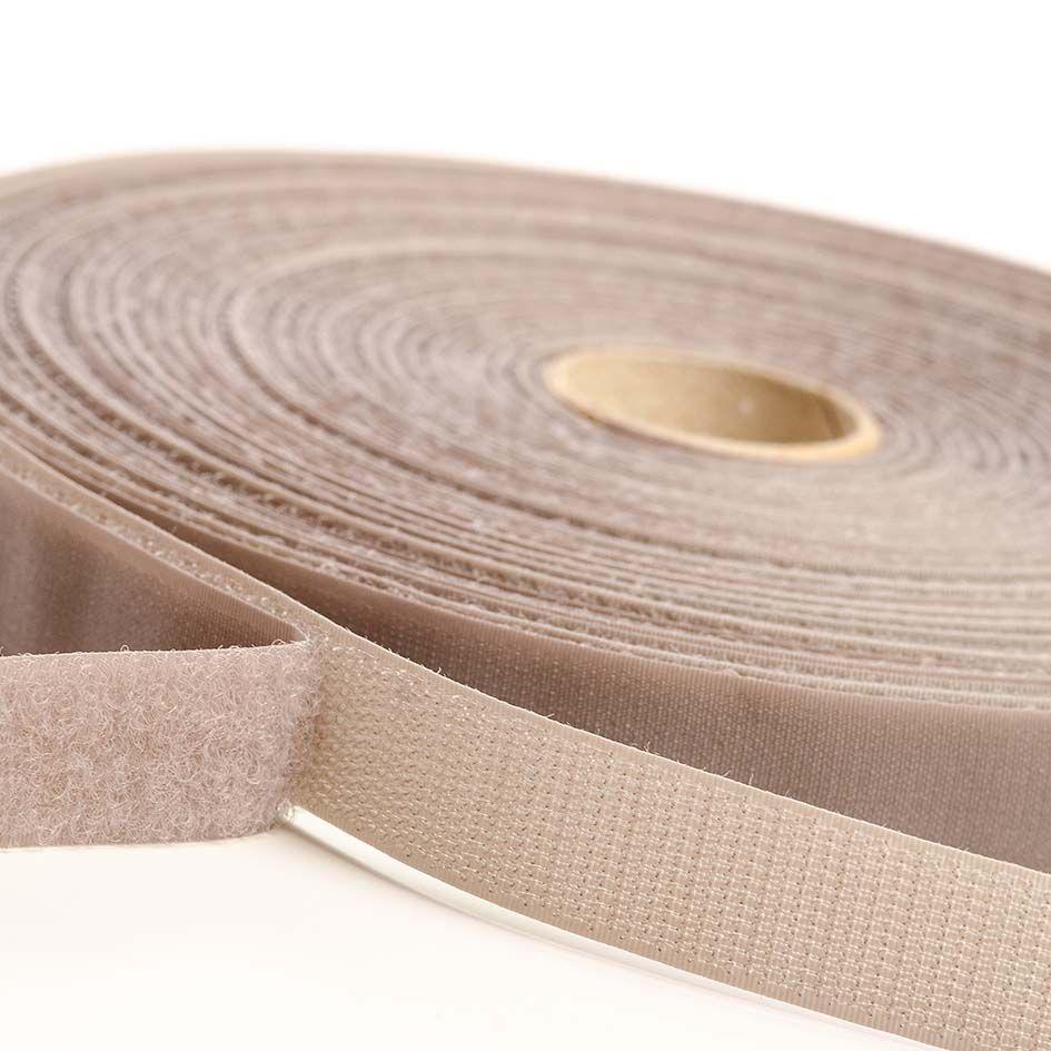VELCRO® Brand Sew-on 10m x 20mm tape GREY