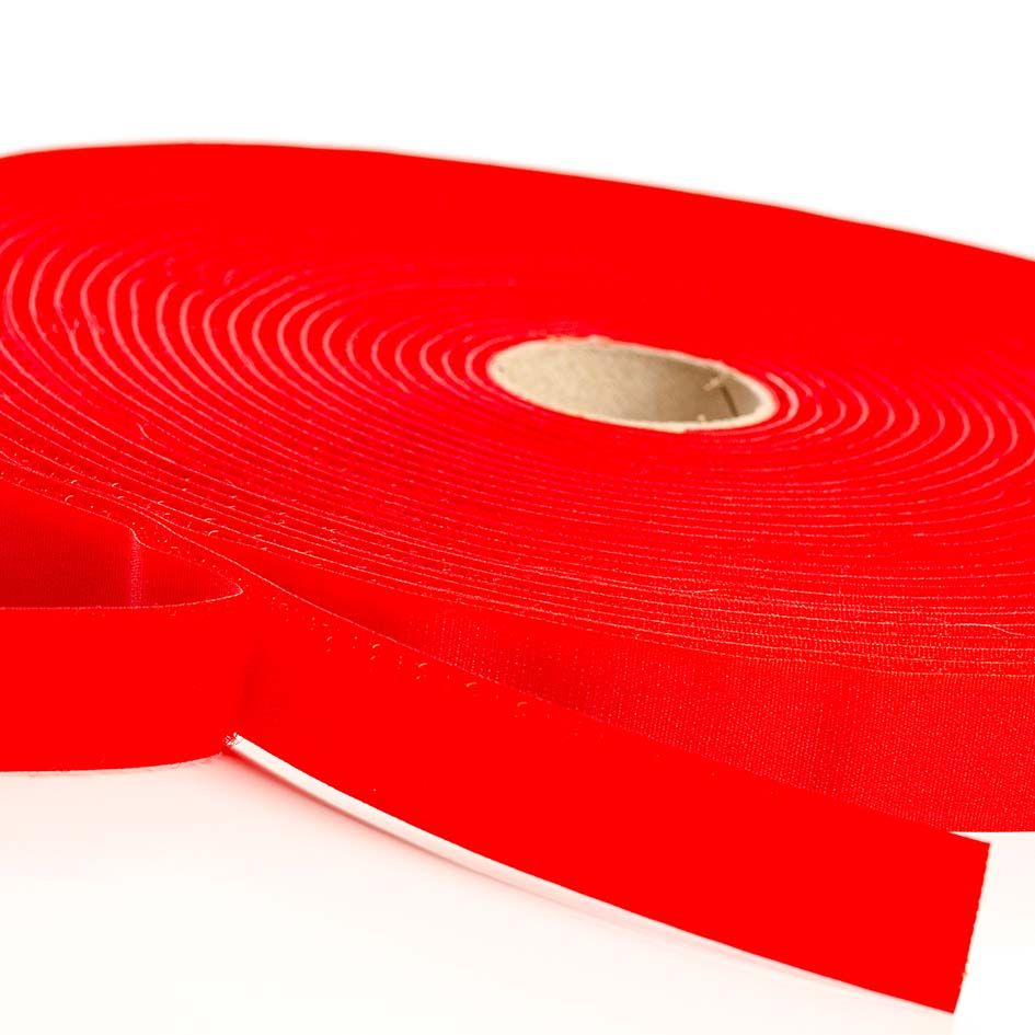 VELCRO® Brand Sew-on 10m x 20mm tape RED